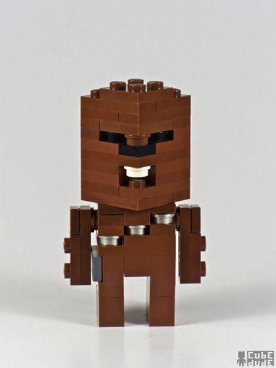 Chewbacca Lego Star Wars Icon | Lego Star Wars Icons