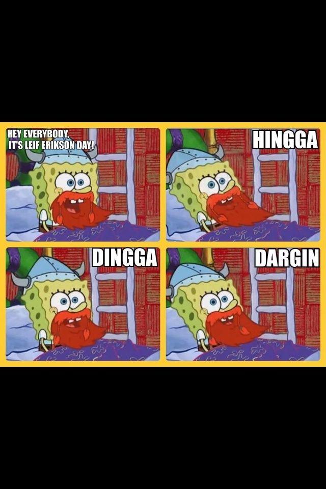 Happy Leif Erikson Day!! - spongebob post - Imgur