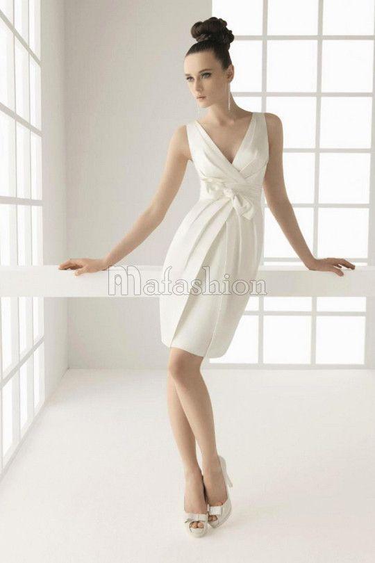 762d4163a4c Decouvrez une Robe de Mariée Courte très belle a bon prix chez Mafashion