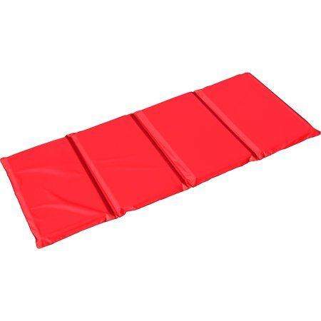 Peerless Plastics Red Blue Kindermat 1 Inch X 19 Inch X 45 Inch Size 1 Inch X 19 Inch X 45 Inch Multicolor Red Blue Kinder Mat Blue Color Combinations