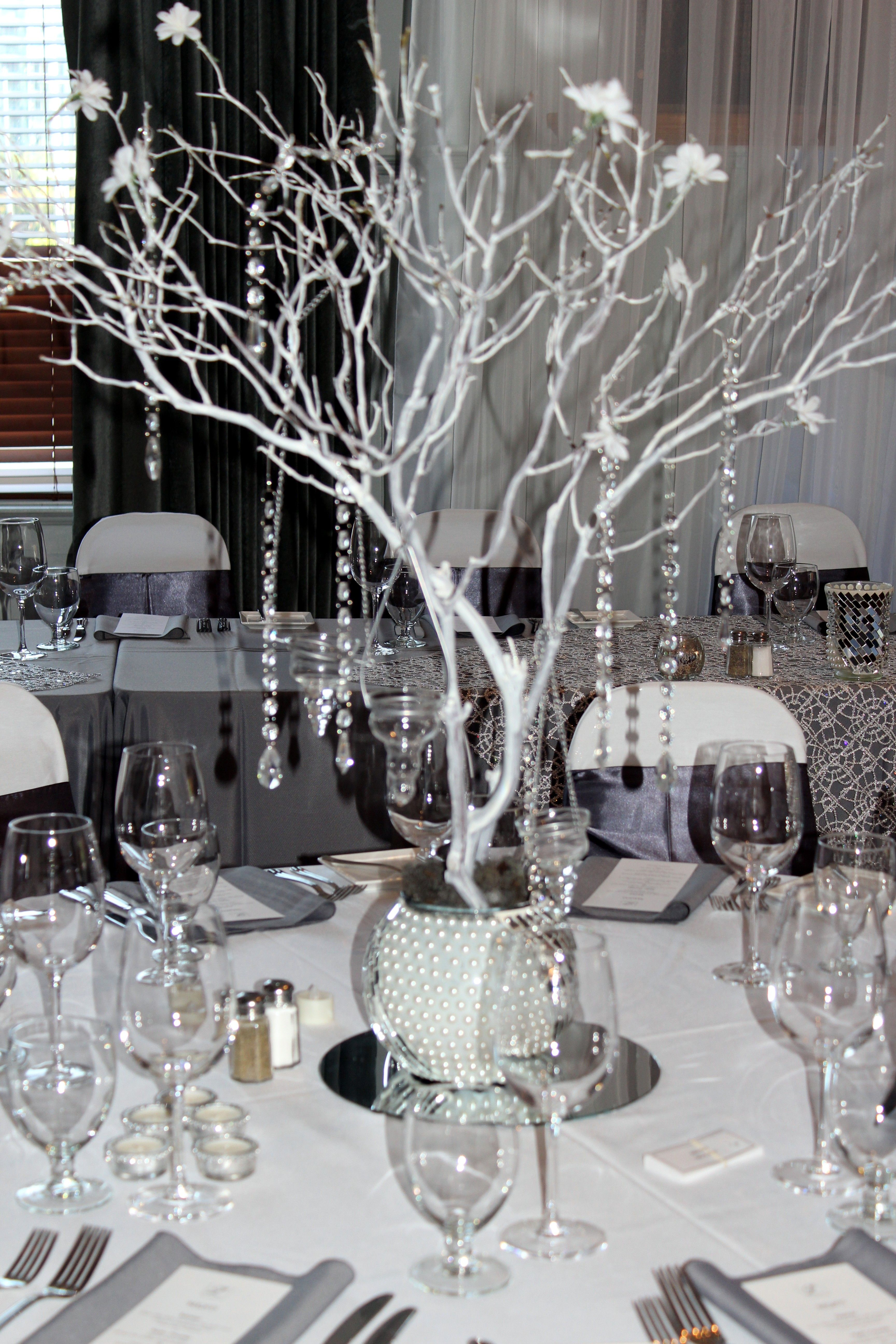 Manzanita centerpiece grey silver white bling wedding theme manzanita centerpiece grey silver white bling wedding theme contact me scootable on pinterest junglespirit Image collections