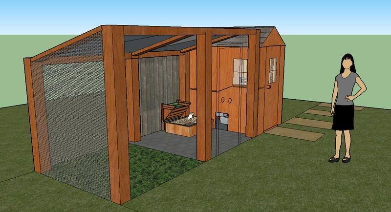 erste entw rfe f rs gehege kaninchen kaninchen. Black Bedroom Furniture Sets. Home Design Ideas