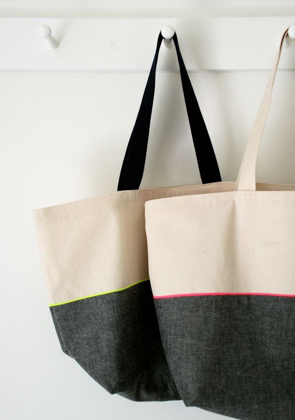 Einfache Tasche, bebilderte Anleitung   Design Inspiration ...