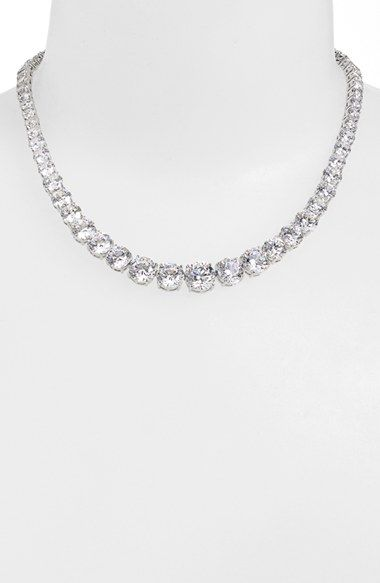 Nadri Cubic Zirconia Collar Necklace available at Nordstrom