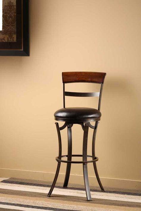 "Hillsdale Furniture 26"" 4912-826 Kennedy Swivel Counter ..."