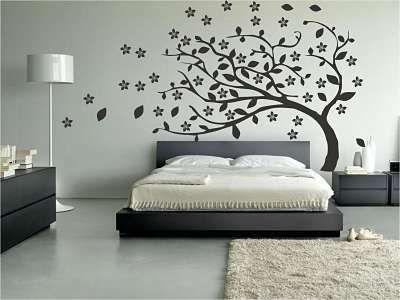 decoracion para paredes con vinilos cuartos Pinterest Modern - decoracion de paredes