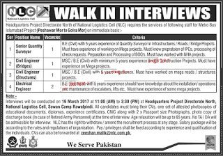 Nlc Jobs  National Logistics Cell North For Metro Bus