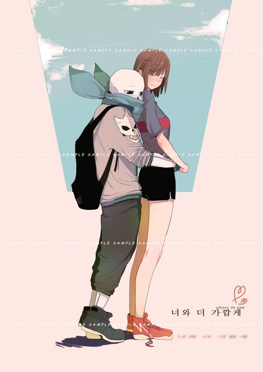 Twitter ni kasx back hug underswap papyrus hug from behind anime couples
