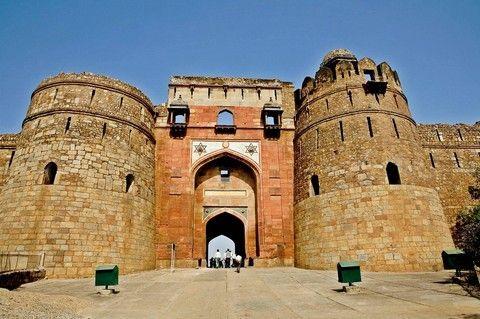 Purana Qila, Entrance Gate, New Delhi, India