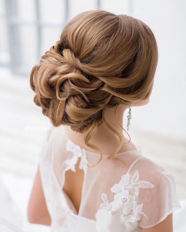 Top 20 Fabulous Updo Wedding Hairstyles: This Beautiful Updo Bridal Hairstyle Perfect For Any