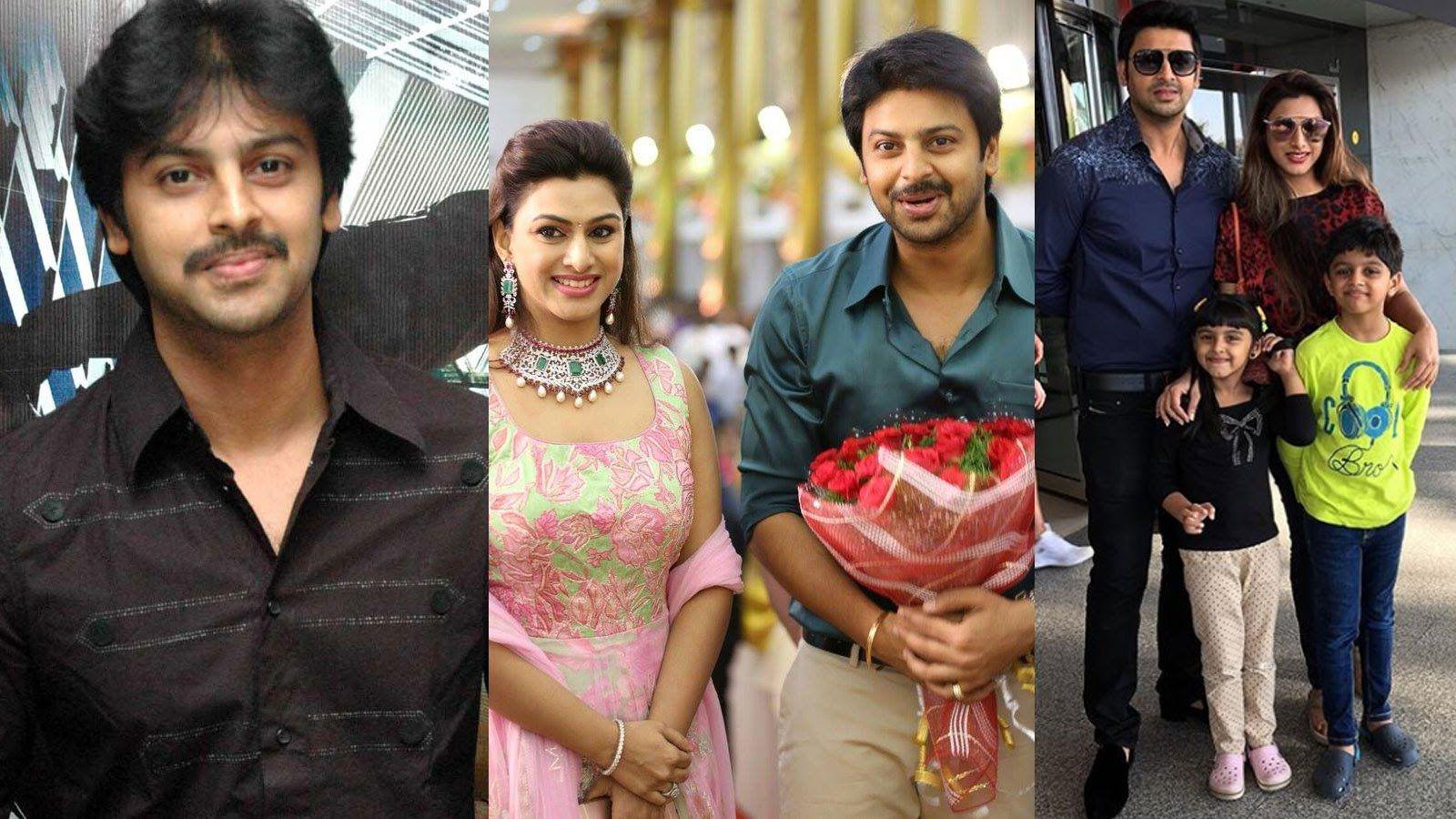 Actor Srikanth Family Photos Tamil Te