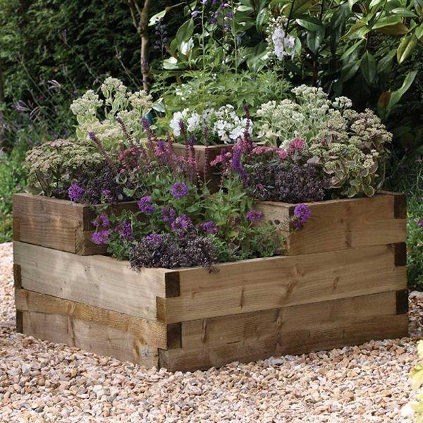 Improving Allotments Patio Garden
