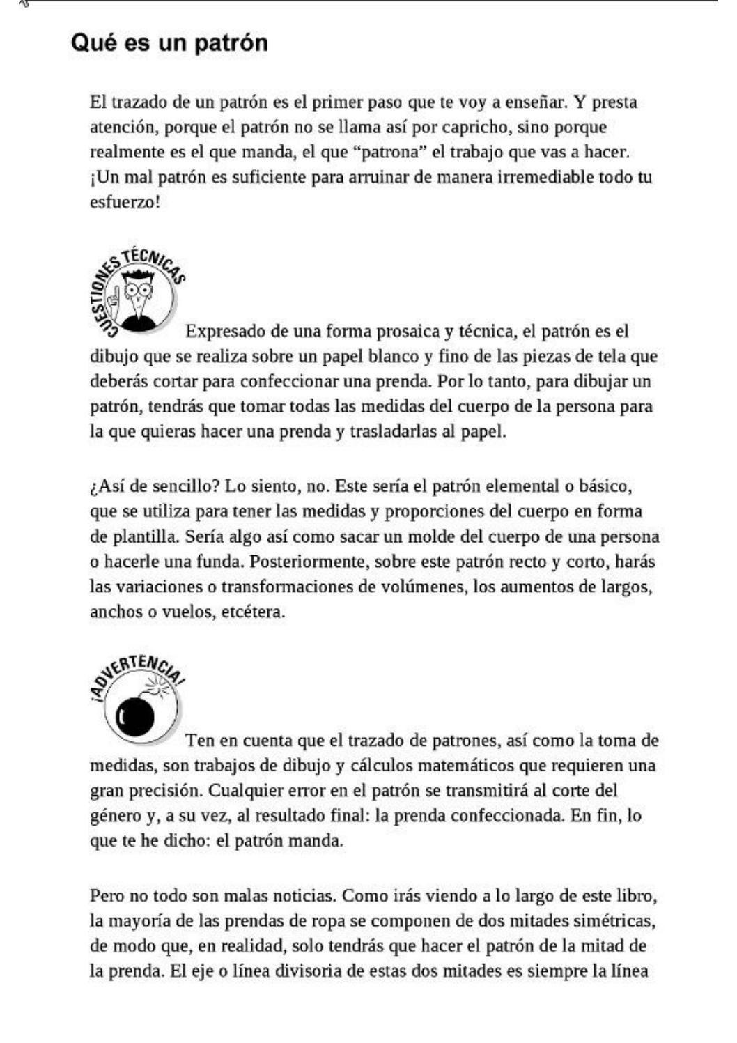 005 corte y confeccion para dummies pdf | coser.. ♡ | Pinterest ...