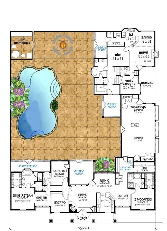 Mother In Law Suite House Plans Addition In Law Apartment Ideas: Mother In Law Cottage, Home Addition Plans, Fresh House