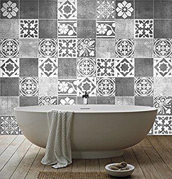 kleine zimmerdekoration design temporary backsplash, pin by melanjelic on home art | pinterest | tiles, bathroom and tile, Innenarchitektur