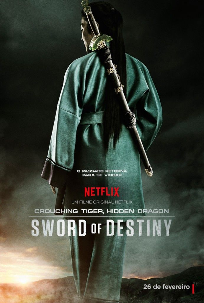 Crouching Tiger Hidden Dragon Sword Of Destiny Filmes Posteres