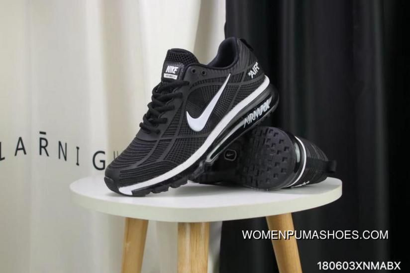 1fce2f4c1c Nike Full-palm Cushion Air Max 2019 Black And White New Style in ...