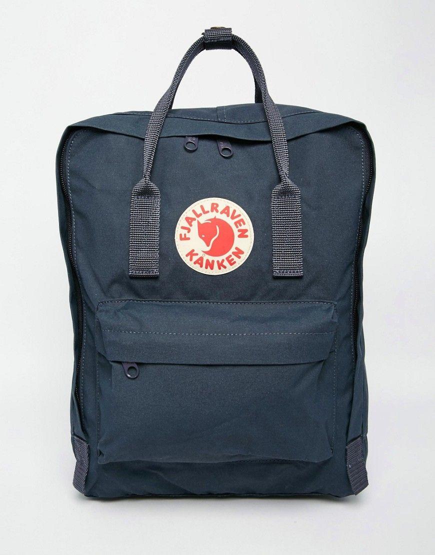 9749ca2cc Fjallraven Classic Kanken in Navy in 2019 | Bags | Backpacks, Laptop ...