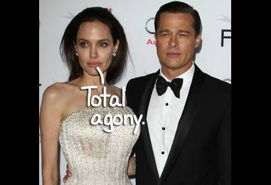 Angelina Jolie Is 'In Agony' After Filing For Divorce From Brad Pitt