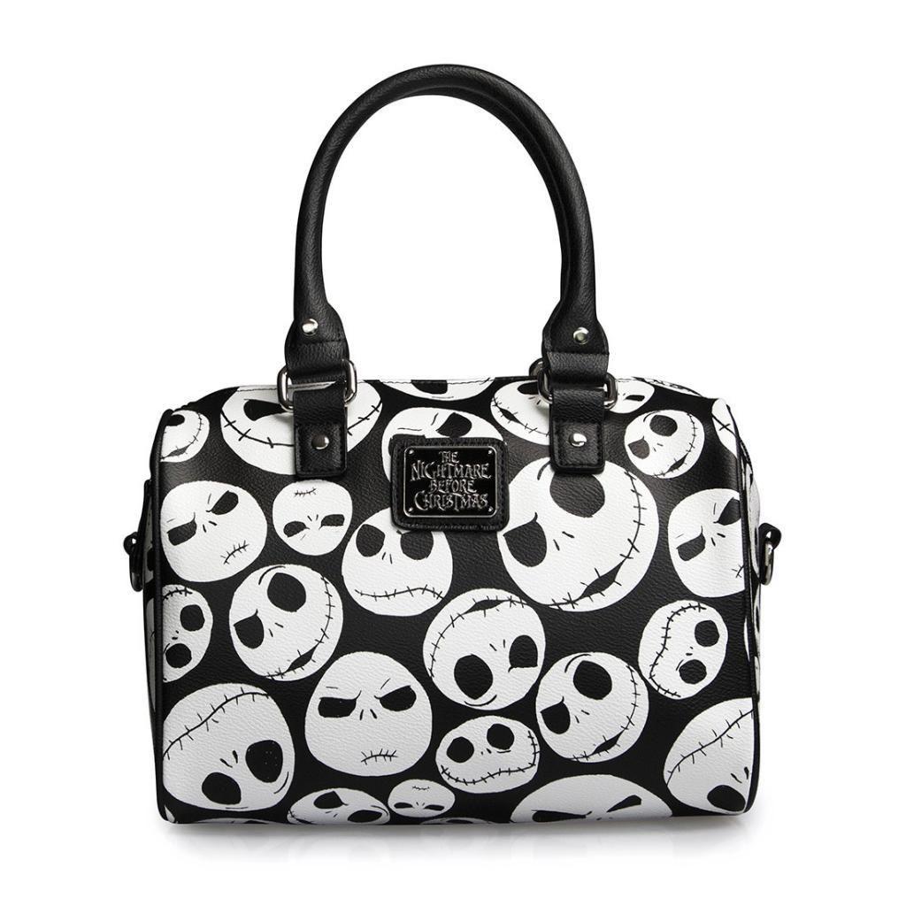 310960f454d Loungefly Jack Faces Black White Mini City Handbag Jack Skellington  Nightmare Before Christmas Disney handbag purse