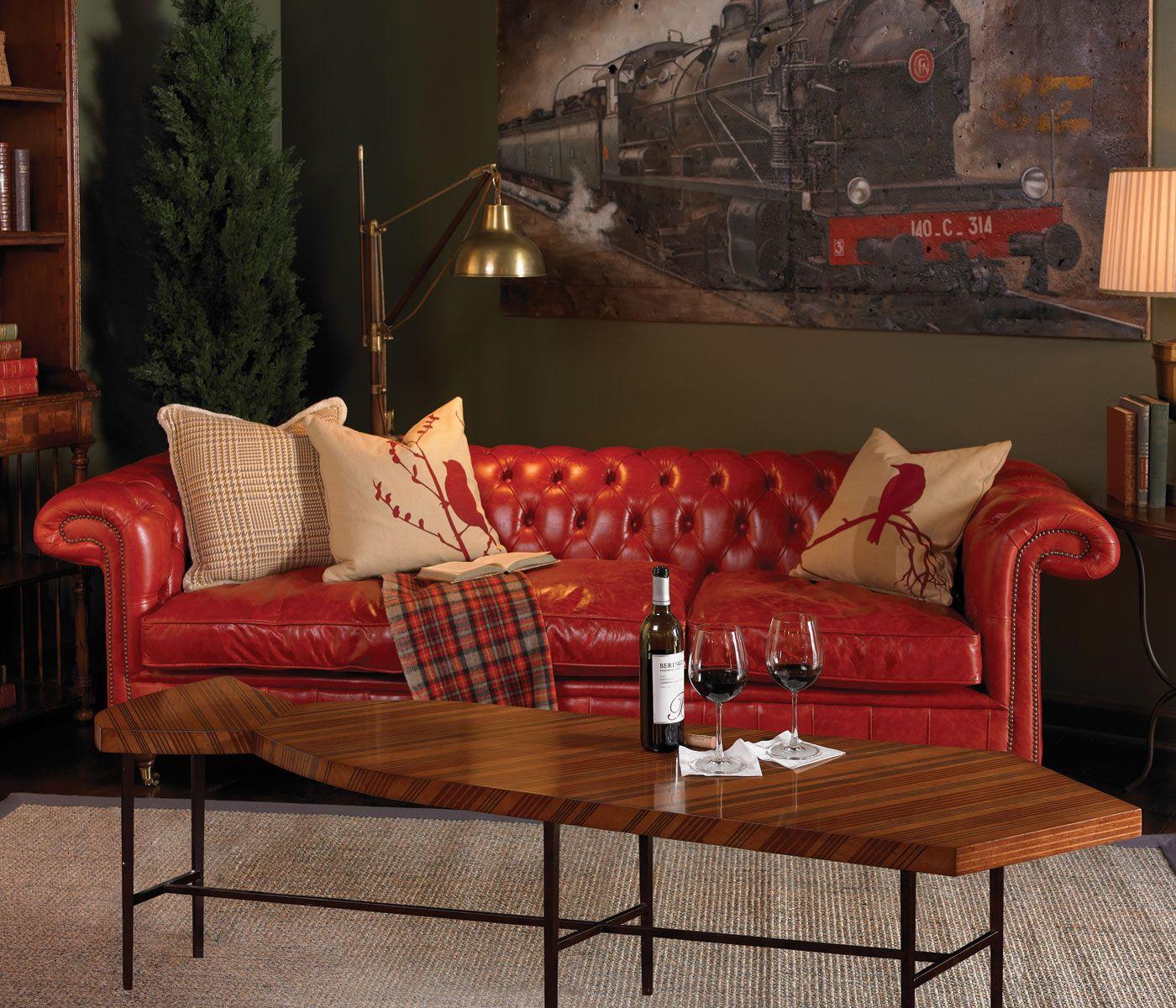 Cozy Modern Homedecor:  Alexander Julian #jonathancharles