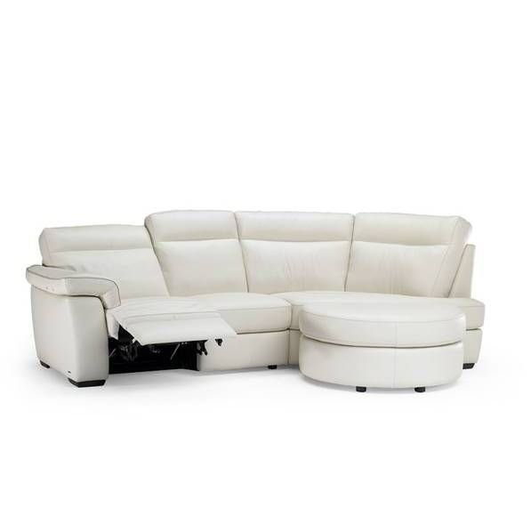 Curved Sofa Sectional Leather: Natuzzi Editions Milan Leather Curved Sofa #lounge
