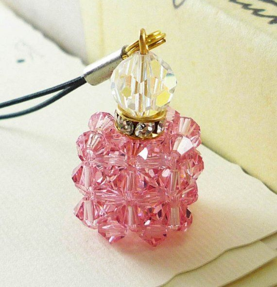 Swarovski Crystal Perfume Bottle Pink Edition | Perfume