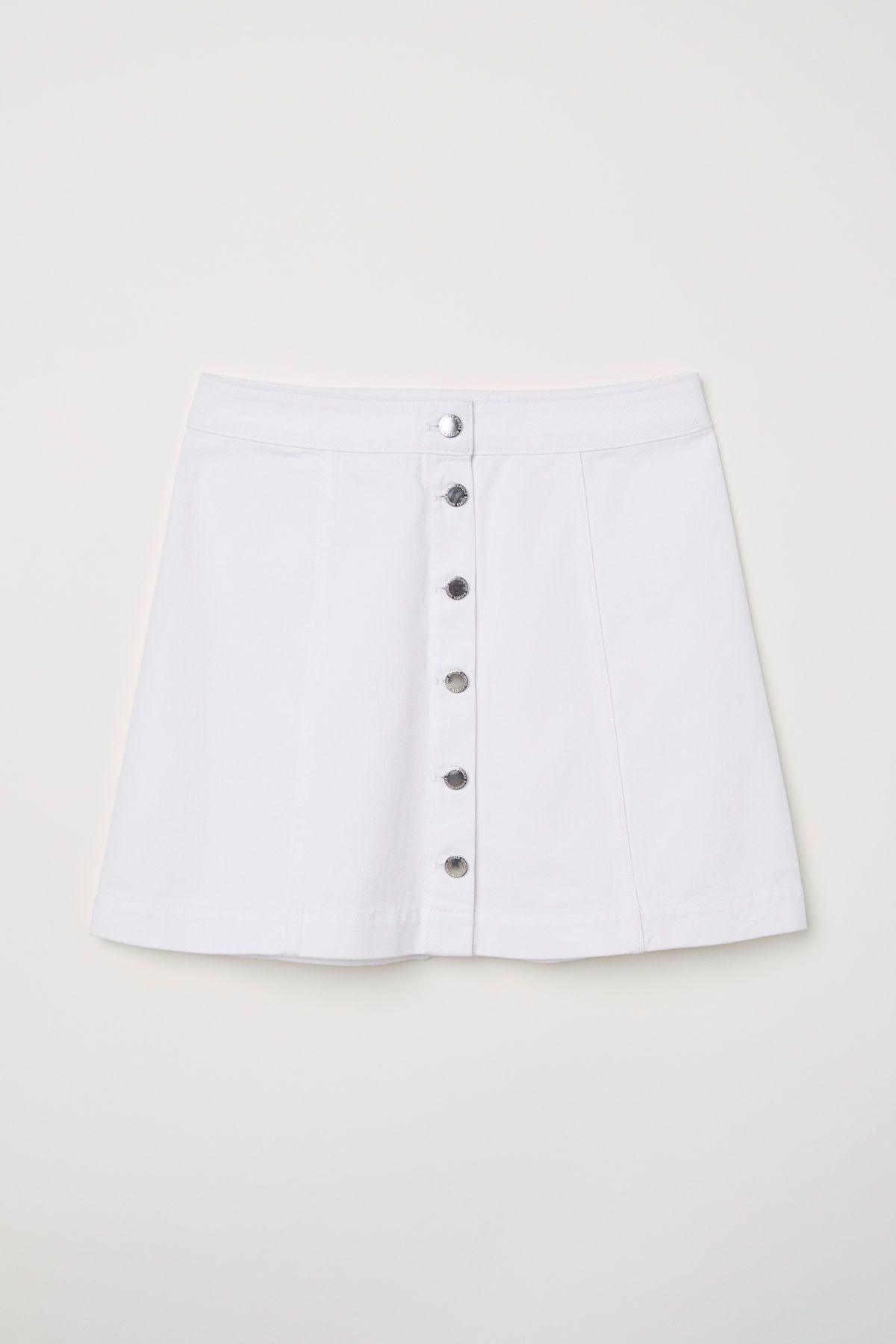 0870935a0 Short Skirt | White | DIVIDED | H&M US | Things I'll Buy/Wear ...