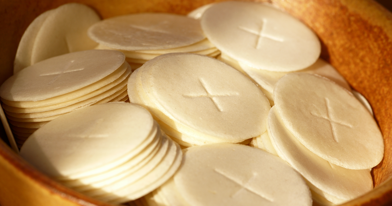How Are Communion Wafers Made Ucatholic Communion Wafers Recipe Communion Bread Recipe Wafer
