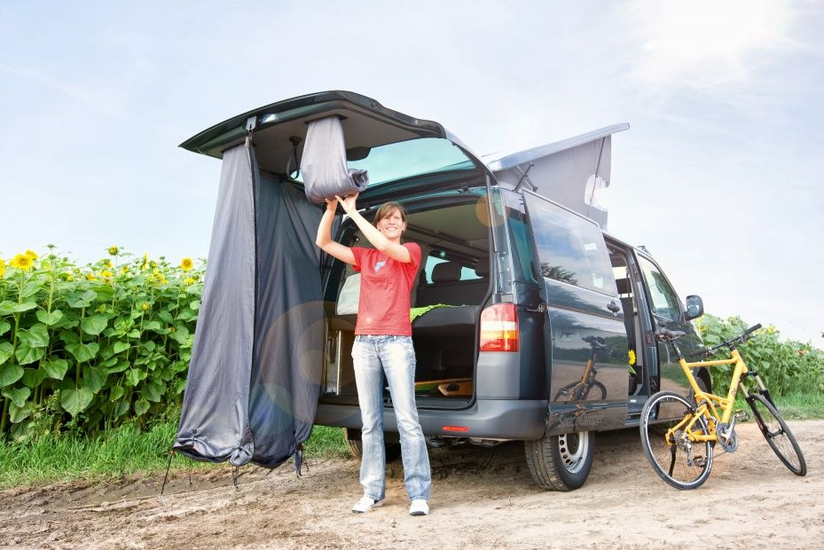 ausbau optionen der spacecamper vw t5 camping ausbau. Black Bedroom Furniture Sets. Home Design Ideas