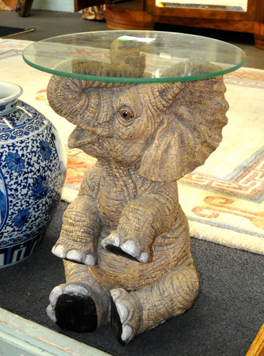 Elephant Base Glass Top Table Glass Coffee Table Glass Table Coffee Table Trunk [ 1200 x 890 Pixel ]