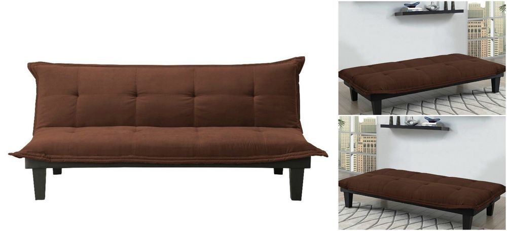 Convertible Sofa Bed Futon Couch Settee Davenport Sleeper Office Living Room Dhp Casual