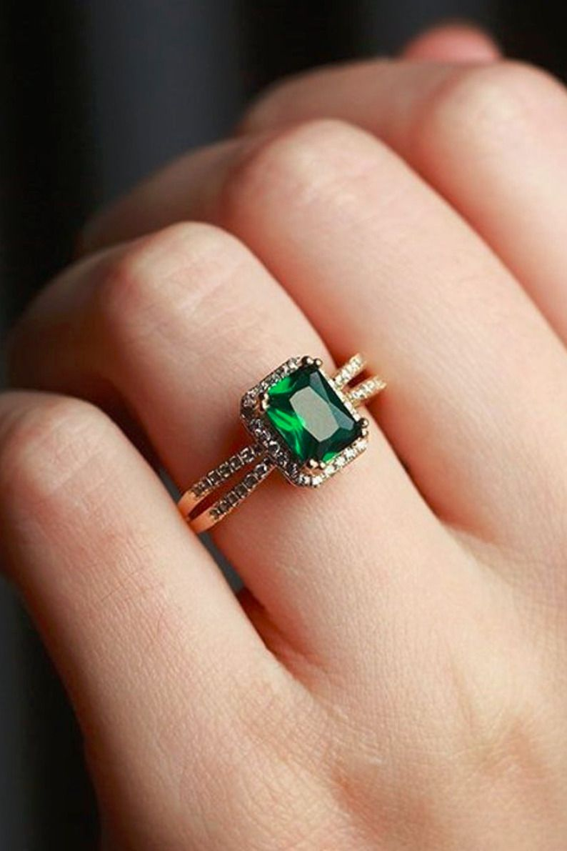 non bridal diamond rings