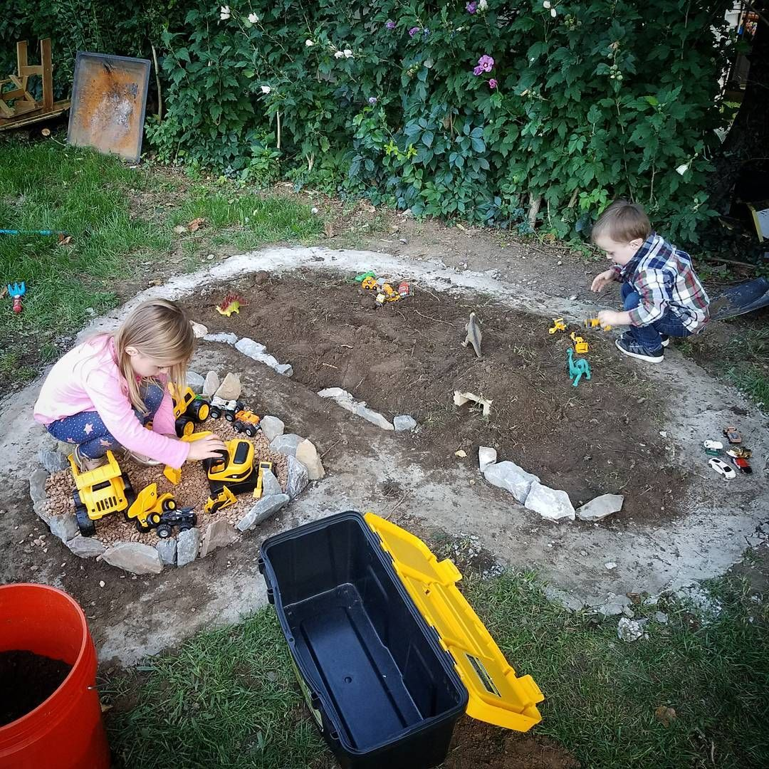 backyard race car track u0026 u2026dinosaur garden world and