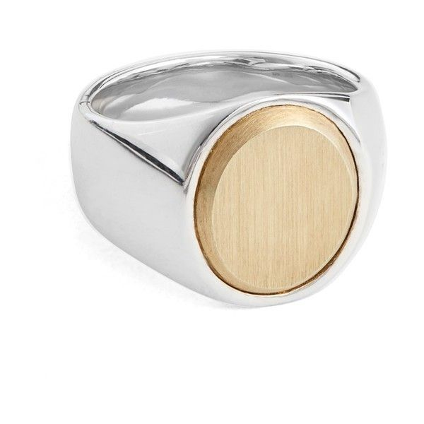 Womens Oval Signet Ring Tom Wood 0vNm1dzy