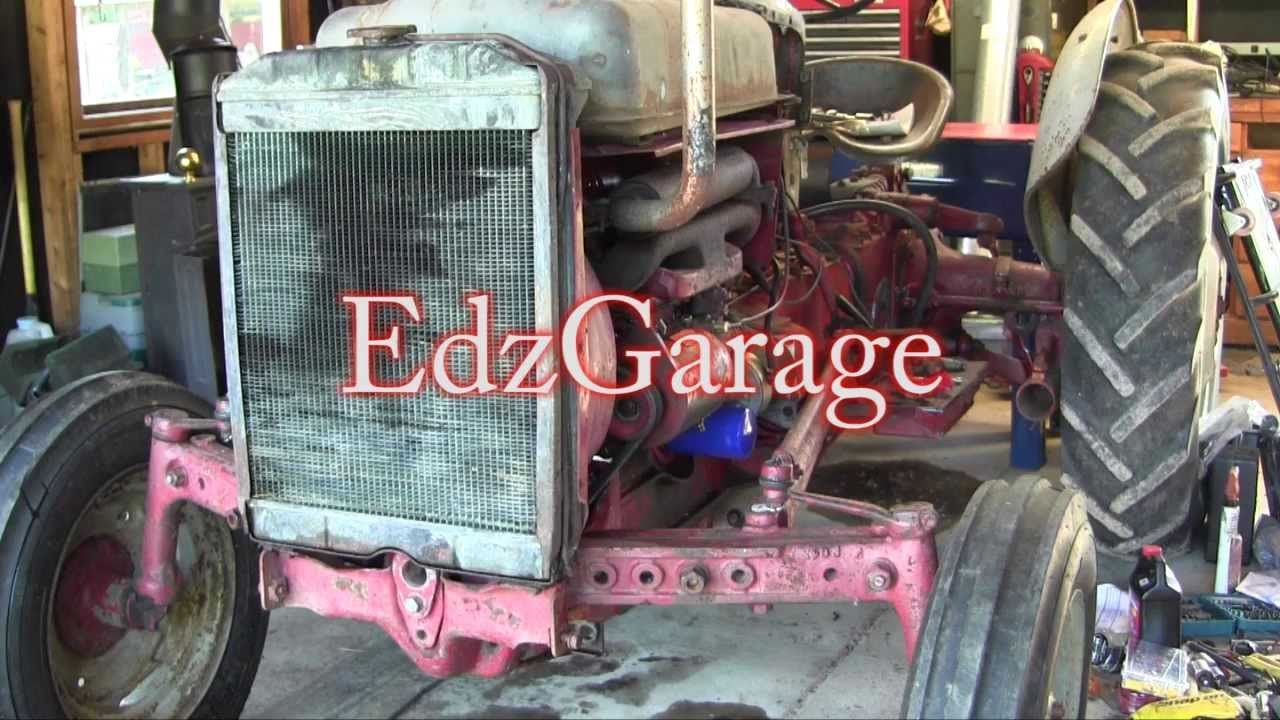 medium resolution of ford jubilee naa tractor engine rebuild part 16 wiring front axle and f