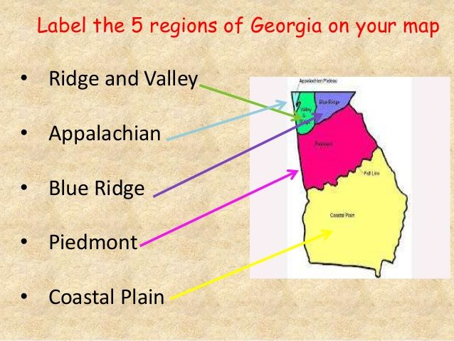 Georgia 5 Regions Of Georgia Google Search Georgia Regions Third Grade Social Studies Georgia