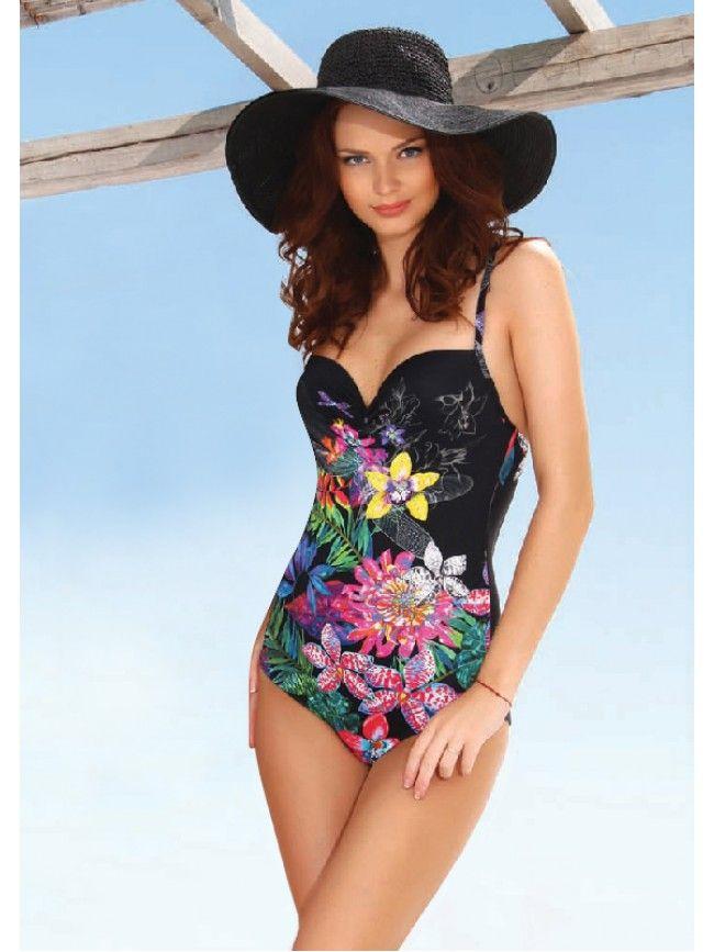 fe3b972694ee1 JOLIDON Цял бански костюм Bali 2298 One Piece, Swimwear, Fashion, Moda,  Bathing