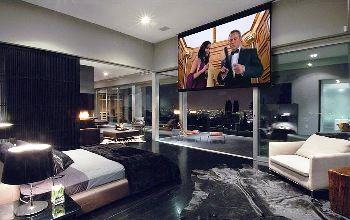 home cinema bedroom - google search | guest bedroom | pinterest