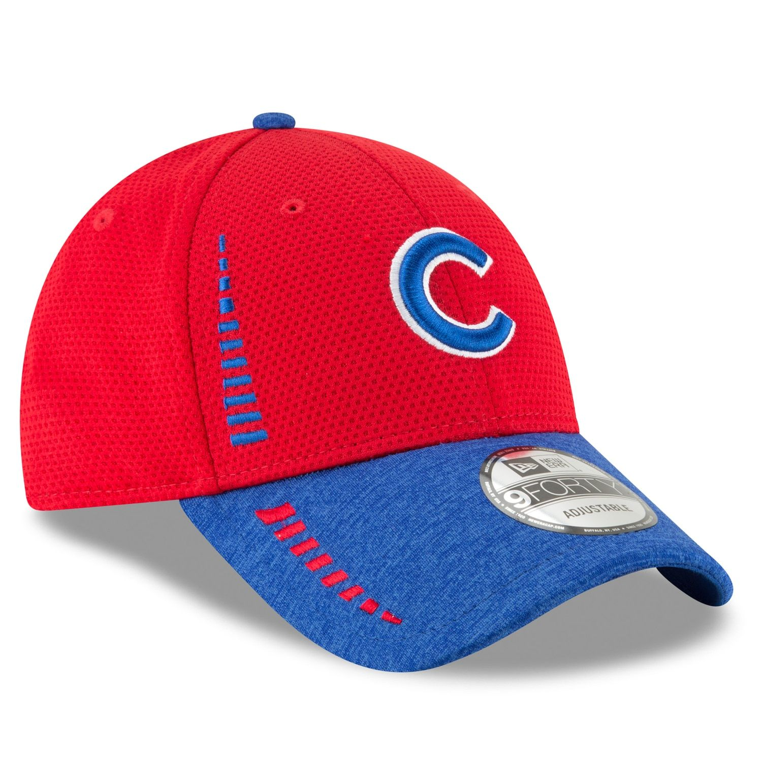 ed8cda15b Adult New Era Chicago Cubs 9FORTY Speed Tech Adjustable Cap   Crafts ...
