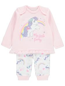 my little pony clothing baby glory pyjamas novelty characters