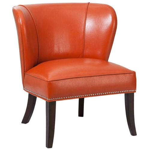 Unique Small Leather Club Chair