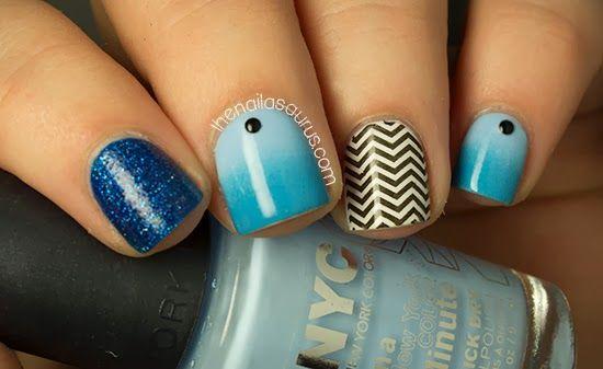 Cosmopolitan Blog Awards 2013 Creative Nails Zig Zag Nails And Uk