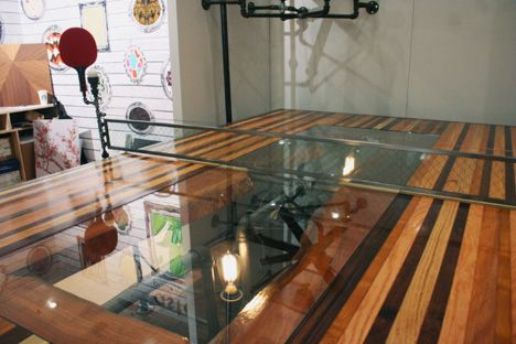 NY Design Week 2012: A Steampunk Ping Pong Table U0026 More By Akke Functional  Art   Core77