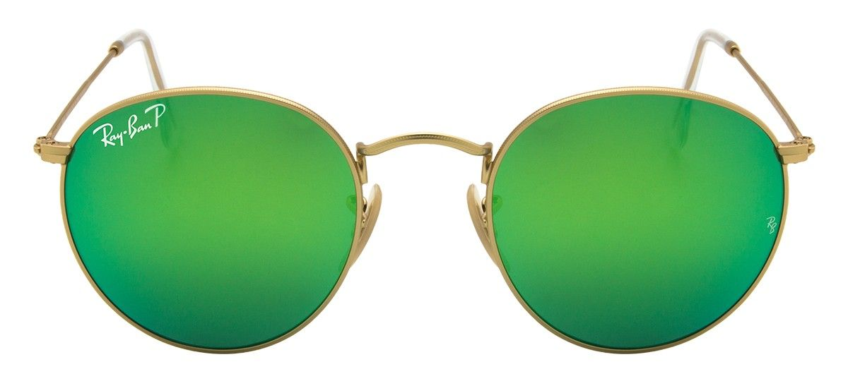 Ray-Ban Pola Esp- Dourado Verde - Óculos de Sol na eÓtica 24ab9072e9
