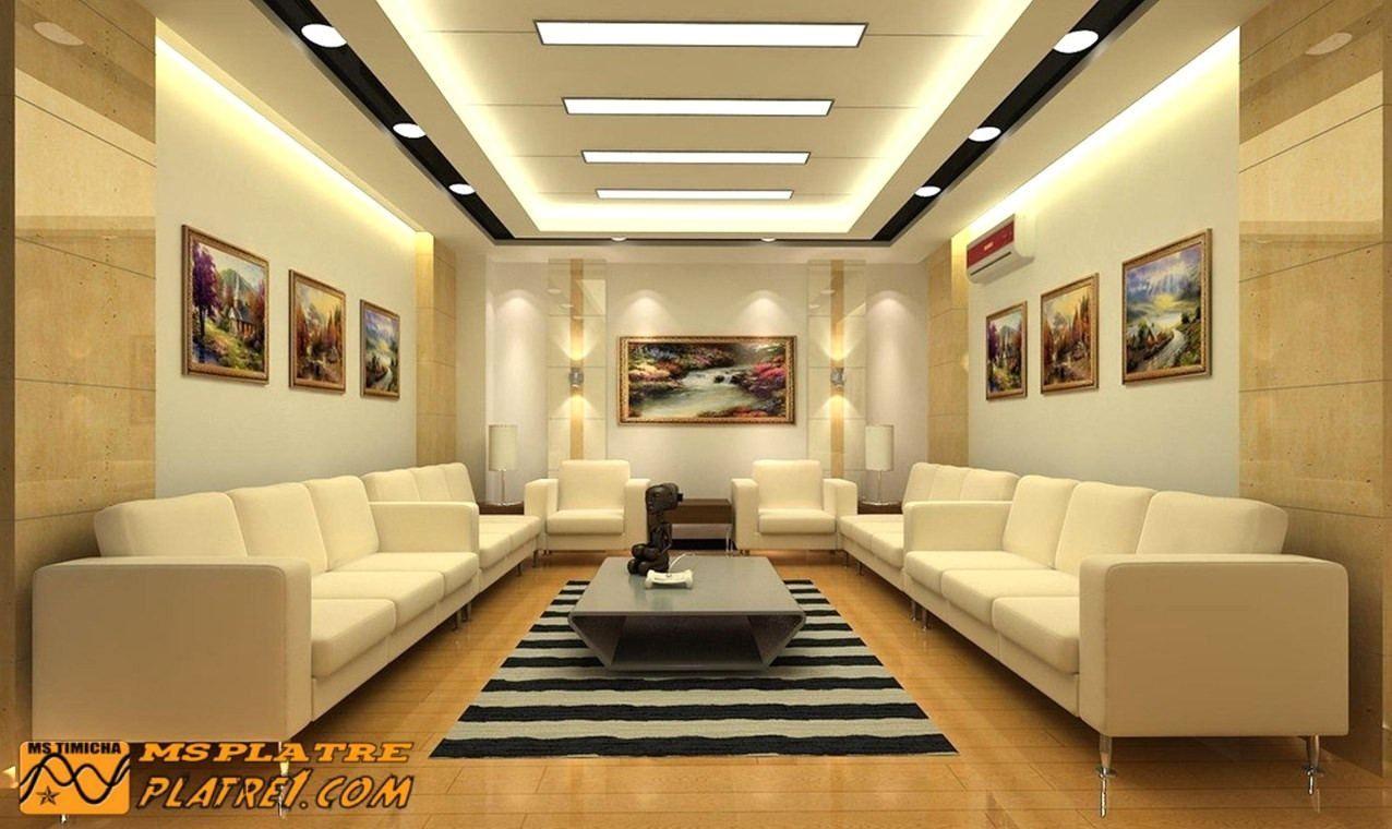 Faux Plafond Salon Moderne Interessant Ruban Led Faux Plafond Avec Ideal Faux Plafond S Ceiling Design Living Room Ceiling Design Modern Ceiling Design Bedroom