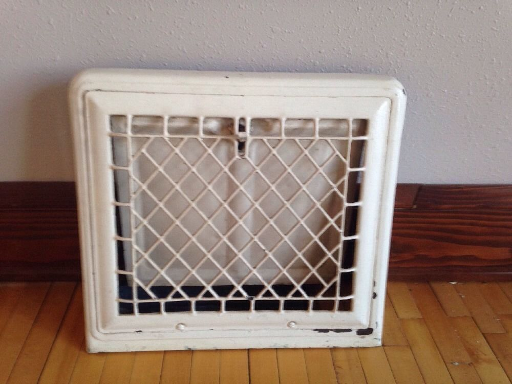Vintage Heat Register Grate From Craftsman Style Home