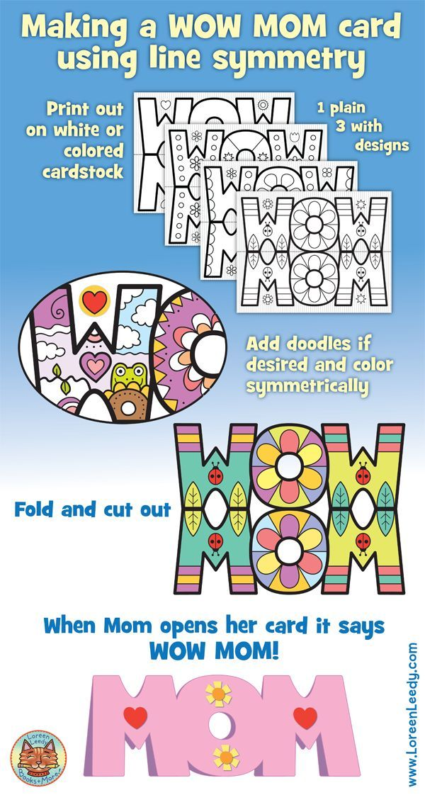 Mother\'s Day Card | Prompts, Math and Activities