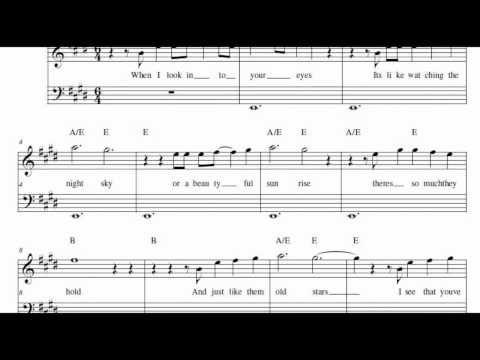 Jason Mraz I Wont Give Up Music Sheet Youtube Violin