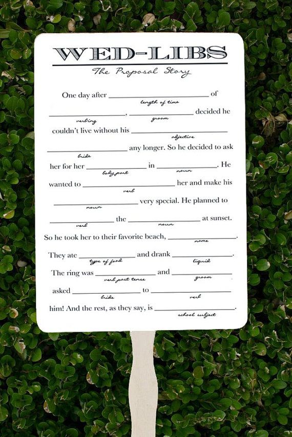 Wed Libs Fans  Wedding Program Fans by TheBourne on Etsy, $1.25